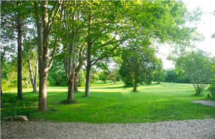 Barnstable Village Cape Cod vacation rental - Backyard for playing and peaceful relaxation