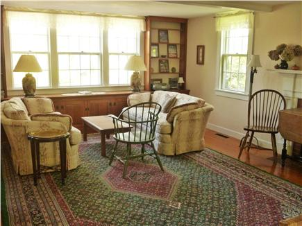 Barnstable Village Cape Cod vacation rental - One living room w/ double couches
