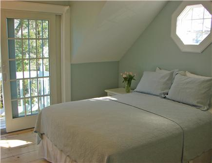New Seabury New Seabury vacation rental - Sunny queen bed master with private deck