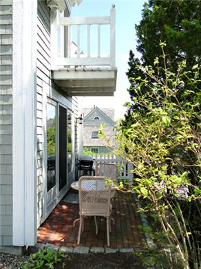 New Seabury New Seabury vacation rental - Sleep with the sliders open on private deck