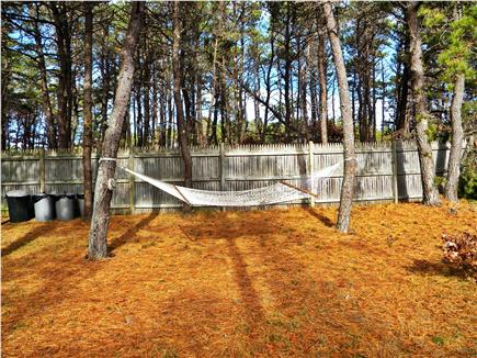 Truro Cape Cod vacation rental - Yard with Hammock for Relaxation