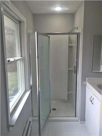 Brewster Cape Cod vacation rental - New shower in renovated Master Bathroom.