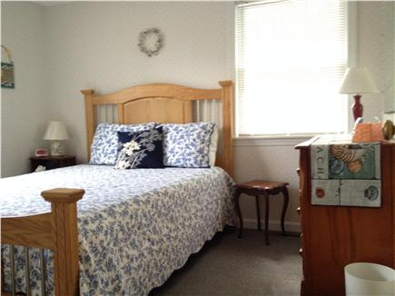 West Yarmouth Cape Cod vacation rental - Back bedroom - queen bed, TV, dresser, 2 closets