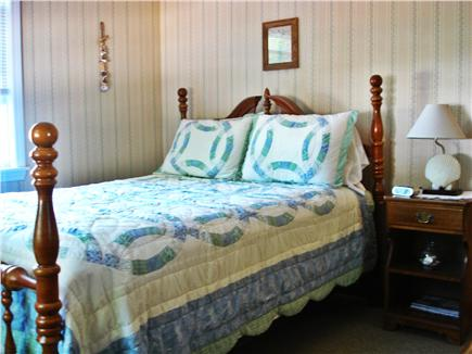 West Yarmouth Cape Cod vacation rental - Front bedroom - queen bed, TV, large dresser & closet