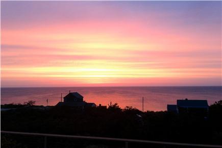 Wellfleet Cape Cod vacation rental - Always awe inspiring sunrise from deck.