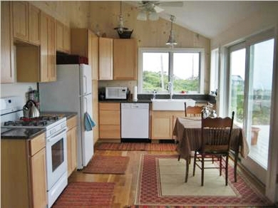 Wellfleet Cape Cod vacation rental - Modern kitchen with everything you will need for dining in.