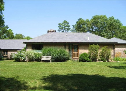 Brewster Cape Cod vacation rental - Main house with guest house to the left