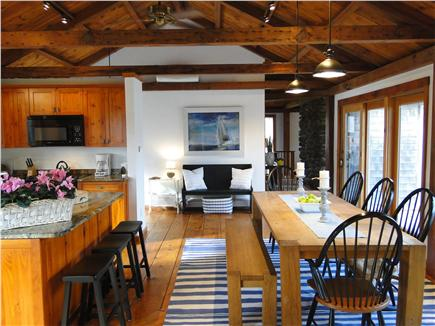 Brewster Cape Cod vacation rental - Dining area with sliders to deck area