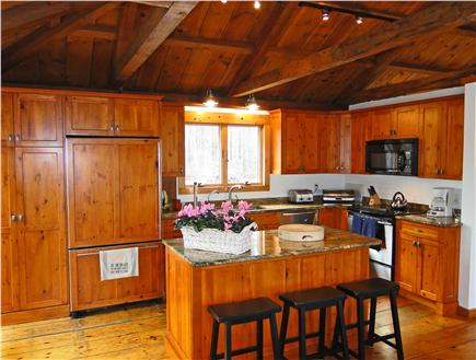 Brewster Cape Cod vacation rental - Spacious and bright modern kitchen