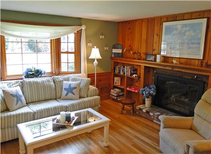 West Yarmouth Cape Cod vacation rental - Living room includes flat screen TV