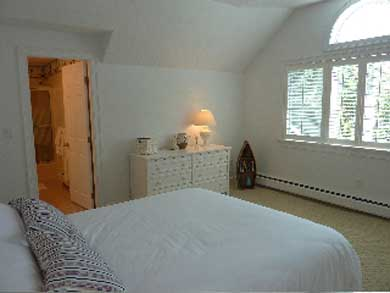 Mashpee Cape Cod vacation rental - Pond view guest bedroom with private bath