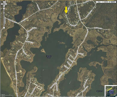 Mashpee Cape Cod vacation rental - Map of South Mashpee