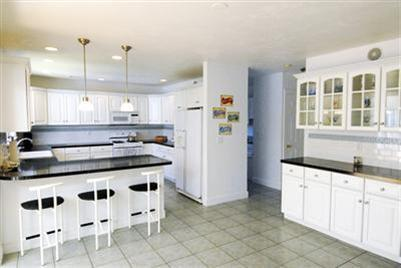 Mashpee Cape Cod vacation rental - Spacious eat-in kitchen with separate pantry and laundry area