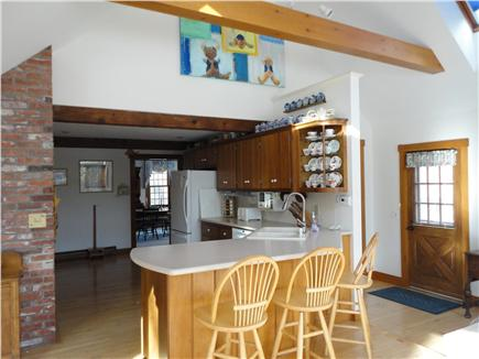 Chatham Cape Cod vacation rental - Kitchen with counter seating.