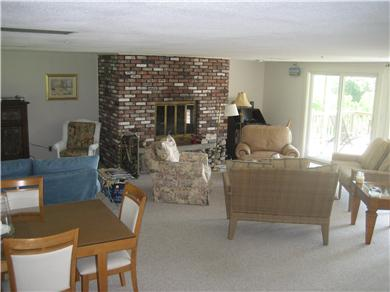 Falmouth Cape Cod vacation rental - 30' x 35' Living Room