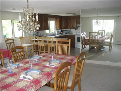 Falmouth Cape Cod vacation rental - Dining room adjacent to Kitchen