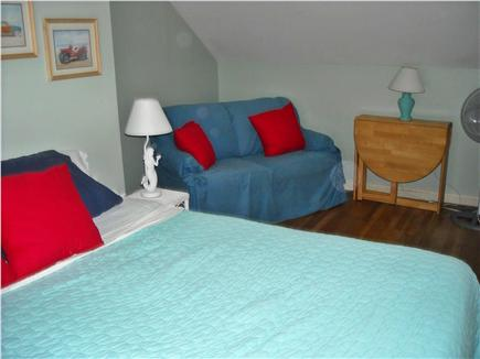 West Yarmouth Cape Cod vacation rental - Upstairs King with TV and Bath