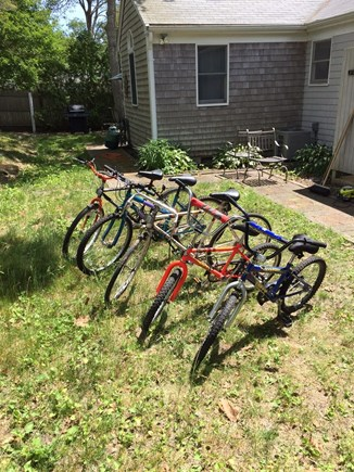 West Yarmouth Cape Cod vacation rental - Bikes for everyone! Please bring your own helmets