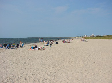 West Yarmouth Cape Cod vacation rental - Spend the day at  Seagull beach w/ concessions & bathrooms