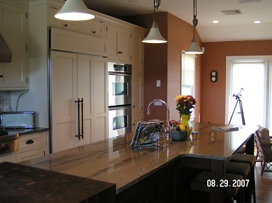 Wellfleet Cape Cod vacation rental - Gourmet Kitchen expansive Island with seating