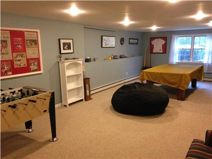 Harwich Cape Cod vacation rental - Newly finished basement with billiards and foosball