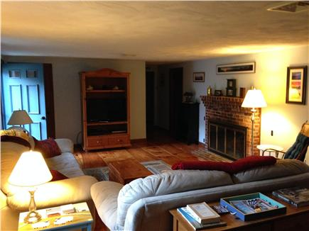 Harwich Cape Cod vacation rental - Living room with plenty of space to unwind!
