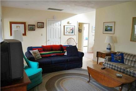 Brewster Cape Cod vacation rental - Living Room with pull out couch