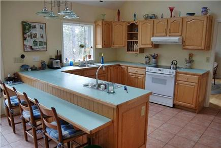 Brewster Cape Cod vacation rental - Kitchen and bar area