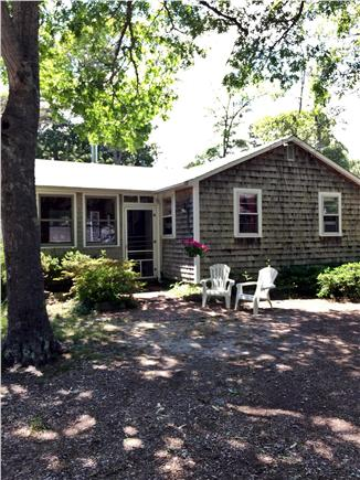 South Dennis Cape Cod vacation rental - Enclosed porch and off street parking