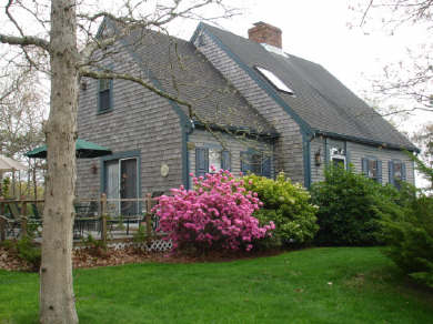 Chatham Cape Cod vacation rental - Yard for playing, flowering gardens