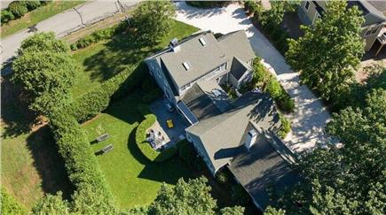 West Falmouth Cape Cod vacation rental - Aerial view of home