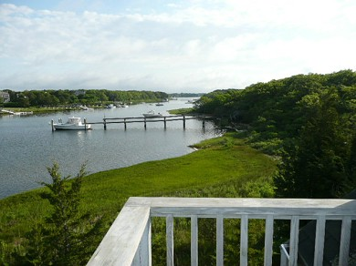 Mashpee, South Cape Beach Cape Cod vacation rental - View  down Great River