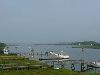 Mashpee, South Cape Beach Cape Cod vacation rental - Views out to Waquoit Bay- minutes by boat to open ocean