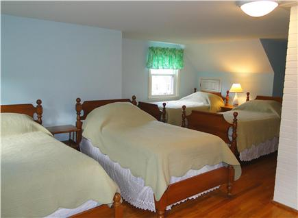 West Harwich Cape Cod vacation rental - Upstairs bedroom with 4 twin beds