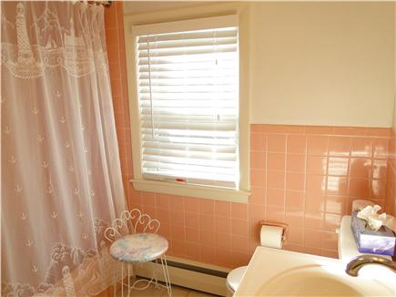 West Harwich Cape Cod vacation rental - Upstairs bathroom; both baths with tub and shower