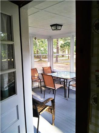 North Eastham Cape Cod vacation rental - Porch (from kitchen)