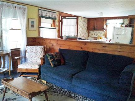 North Eastham Cape Cod vacation rental - Living Room/Kitchen view of Cottage
