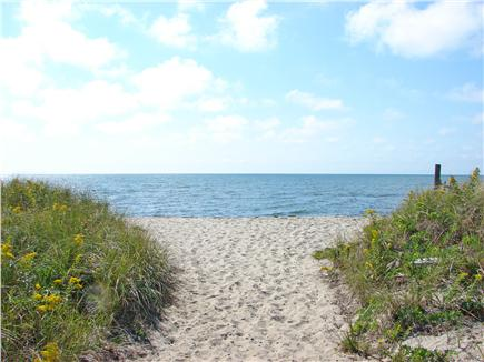 South Chatham Cape Cod vacation rental - …walk one minute to Pleasant Street beach and walk, swim and play