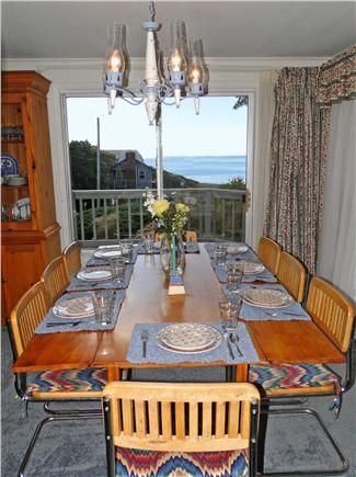 South Chatham Cape Cod vacation rental - Gather for family meals with the sliders open and ocean breezes