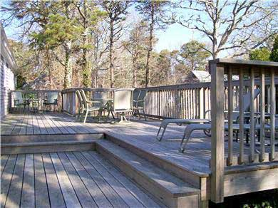 Chatham Cape Cod vacation rental - Deck