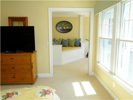 New Seabury, Maushop Village New Seabury vacation rental - View from upstairs bedroom facing Ship Room/daybed