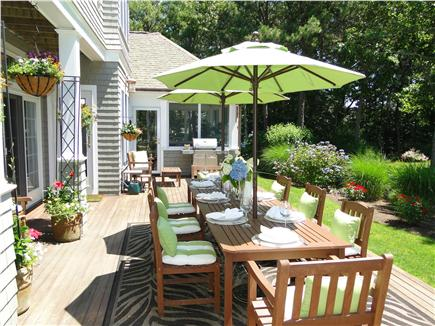 New Seabury, Maushop Village New Seabury vacation rental - Relax in the sun or gather for BBQ with family and friends