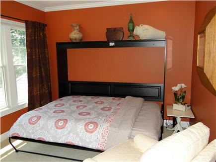 New Seabury, Maushop Village New Seabury vacation rental - Upstairs 4th open BR, queen Murphy Bed; adjacent to up Fam Room
