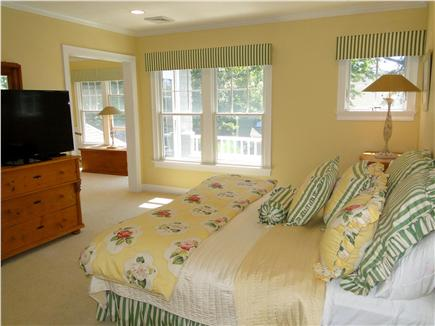 New Seabury, Maushop Village New Seabury vacation rental - Upstairs King (or twins) adjacent to Ship Room, walk out deck