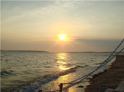 Wellfleet Cape Cod vacation rental - Gorgeous sunsets nightly over Wellfleet Harbor!
