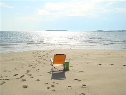 Wellfleet Cape Cod vacation rental - Low tide