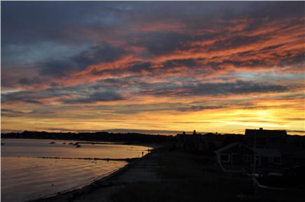 Hyannis Cape Cod vacation rental - Sit on the deck and enjoy the most incredible sunsets