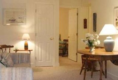 Eastham Cape Cod vacation rental - Lower level suite with liv. room, bedroom, bath and laundry rm.