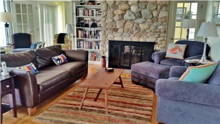 Sagamore Beach, Bourne Sagamore Beach vacation rental - Living room with ocean views