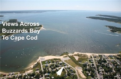 Wareham MA vacation rental - Aerial View of  Water and Neighborhood